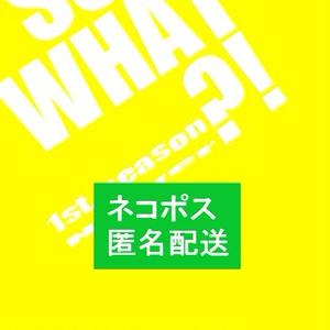 SO WHAT ?!  1st.eason【ネコポス匿名配送】