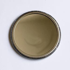 アンティーク風錆缶ミラー