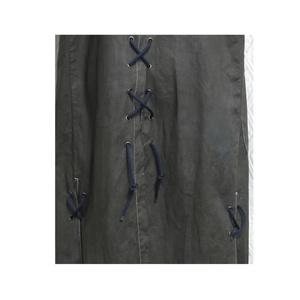 手染め一点ものノースリーブコート「蒼炎」(5-030、031)