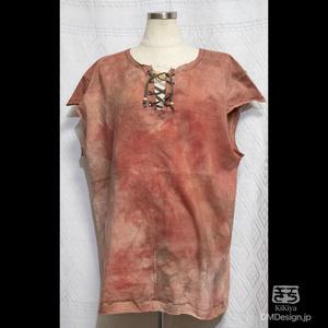 (L相当)手染め一点ものファンタジーウェア「あの服」(赤系)(1-292)
