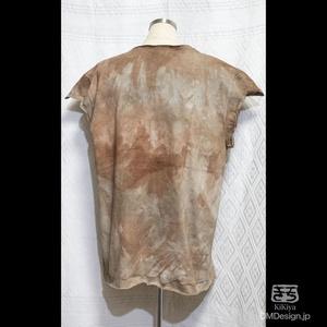 (M相当)手染め一点ものファンタジーウェア「あの服」(緑茶系)(1-289)