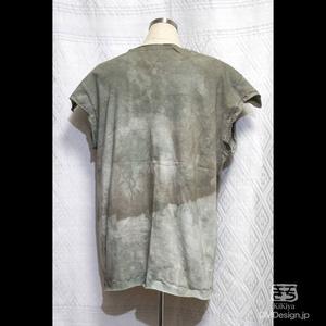 (M相当)手染め一点ものファンタジーウェア「あの服」(薄緑系)(1-290)