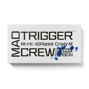 MAD TRIGGER CREW モバイルバッテリー 白