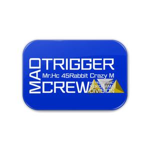 MAD TRIGGER CREW 缶バッジ