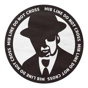 メンインブラック専用立ち入り禁止(マスキング)テープ『MIB LINE DO NOT CROSS』:A