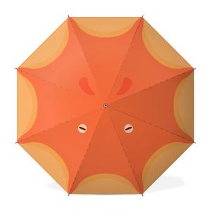 メンダコアンブレラ(オレンジ)