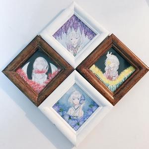 和花の子ミニ原画
