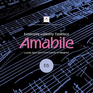 Amabile ExtraBold