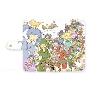 ざくざくアクターズの手帳型Androidケース!!…
