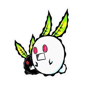 雪兎クロト/ソローリ(ステッカー)