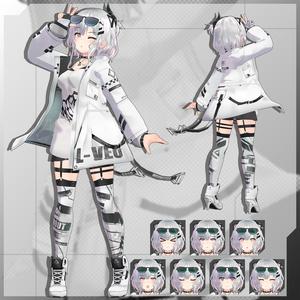 【3Dモデル】Leeme -リーメ- & Reeva -リーバ-