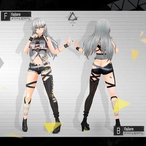 【3Dモデル】Failure -フェイリア- v1.0.2