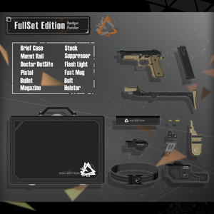 【3Dモデル】Punisher Custom Handgun v1.0.0