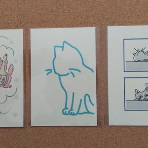 ポストカード(猫)