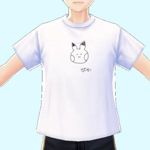 【VRoid】メンズ用 Tシャツ白10枚 10 men's T-shirts