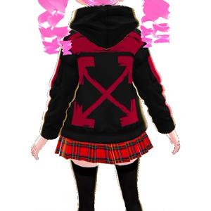 男女兼用 パーカー3色 34パターン カモフラCamouflageFPS파커 텍스처Parker texture連帽衫質地【VRoid用】