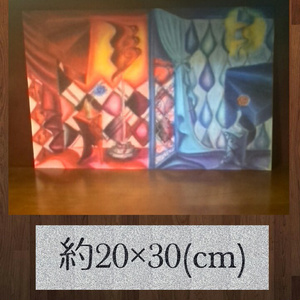◆Kamiitae(紙板絵)◆赤と蒼の部屋
