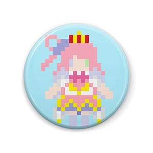 【非公式】姫森ルーナドット絵 缶バッジ【ホロライブ】