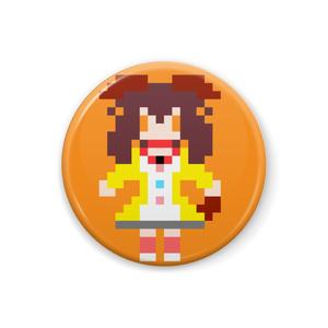 【非公式】戌神ころね ドット絵缶バッジ【ホロライブ】