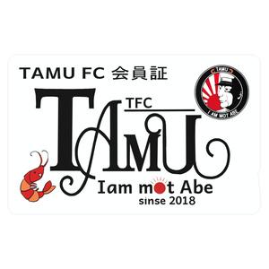 TAMU会員証(エビメン)ICカードステッカー