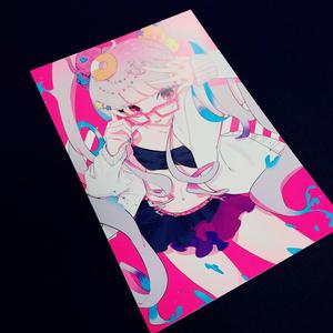 水着灰ちゃんポストカード