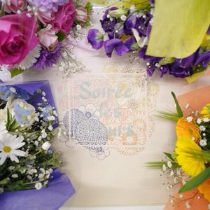soiree des fleurs トートバック
