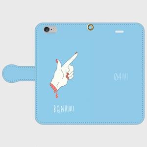 BQN!!!!手帳型スマホケース