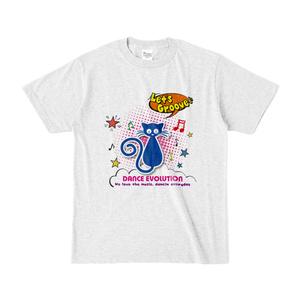 Let'sGroove カラーTシャツ( アッシュ)
