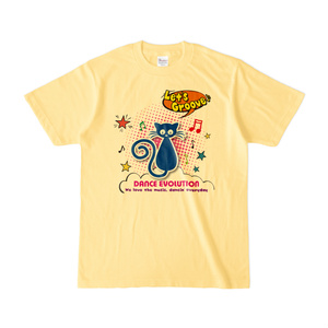 Let'sGroove カラーTシャツ(イエロー)
