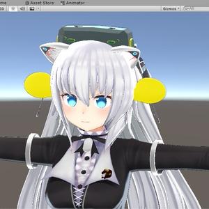 N031 VMC応援みゅん【VRChat】(ファンアイテムCセット)