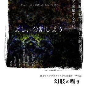 幻肢の囁き(コピー本)※単品のみ受付