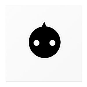 NIRU ステッカー 黒