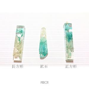 【創作】紫陽花*ネックレス