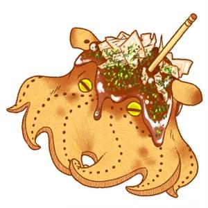 メシダコアクキー たこ焼き&オムライス