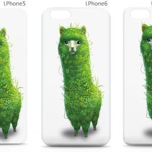 iPhoneケース(5,6,6 Plus用)「エコアルパカ」