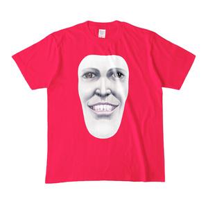 カラーTシャツ(男女兼用)「笑顔のままの君でいて」