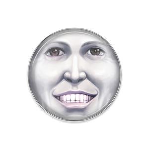 ピンバッジ(2.5cm)「笑顔のままの君でいて」