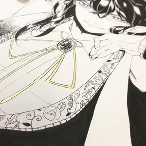 色紙(眼鏡)