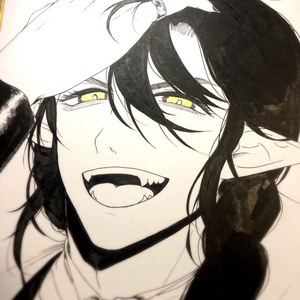 色紙(金眼)