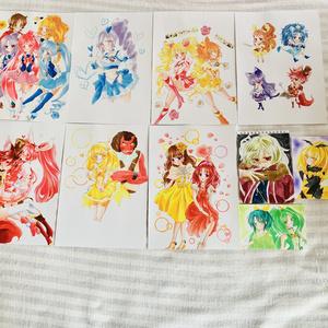 プリキュアコピック原画(ラフ無し)