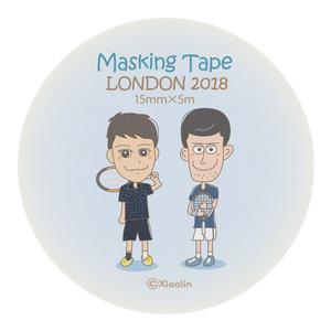 マスキングテープ 15mm幅 / ろんどん2016
