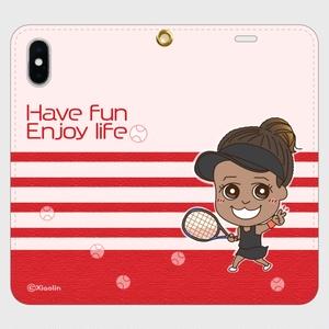 帯なしiPhoneカバー / Have fun, enjoy life_R