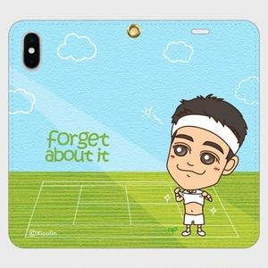 帯なしiPhoneカバー / Forget about it_G