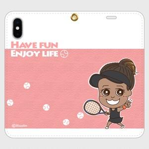 帯なしiPhoneカバー / Have fun, enjoy life _P