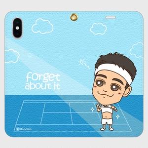 帯なしiPhoneカバー / Forget about it_H