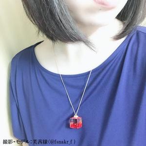 紅葉ネックレス