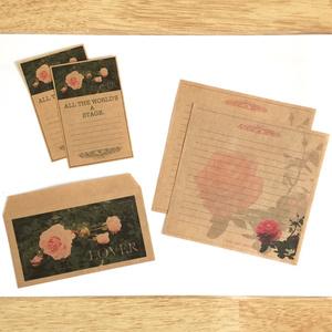 ミニレターセット(rose.ver)