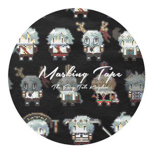 THE FAIRY TALE KINGDOM MASKING TAPE