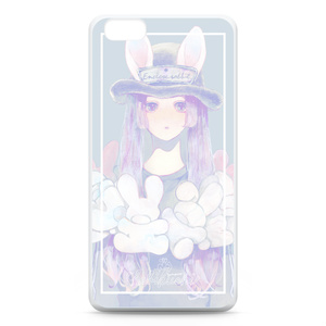 iPhone6 Plusケース-ウサボウシ-