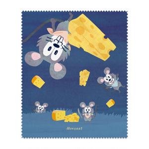 チーズはここに!*メガネふき*19MF1926